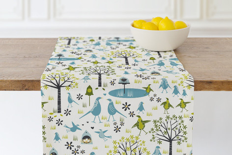 Lakeside Birds Self Launch Table runners