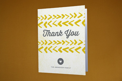 Coordinates Moving Announcements Thank You Cards