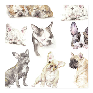 Wrapped in Frenchies Wrapping Paper