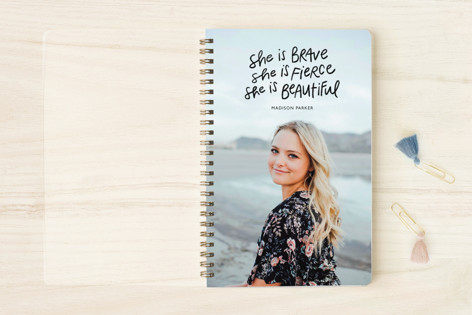 She Is Brave Notebooks