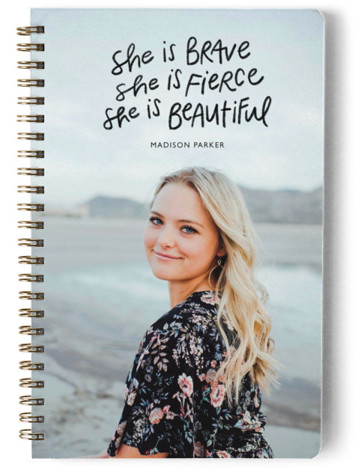She Is Brave Day Planner, Notebook, Or Address Book