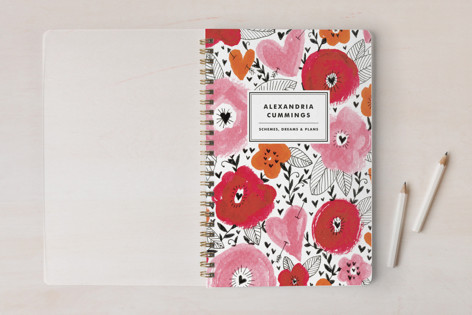 Floral Mix Notebooks