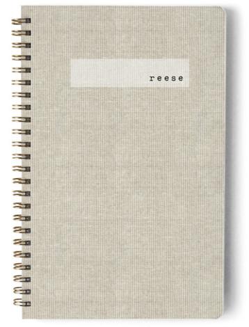 Minimal Linen Day Planner, Notebook, Or Address Book