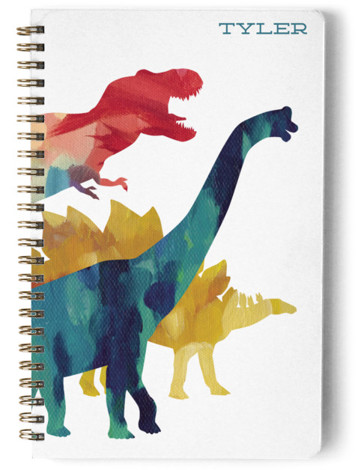 Dinosaur Stomp Day Planner, Notebook, Or Address Book