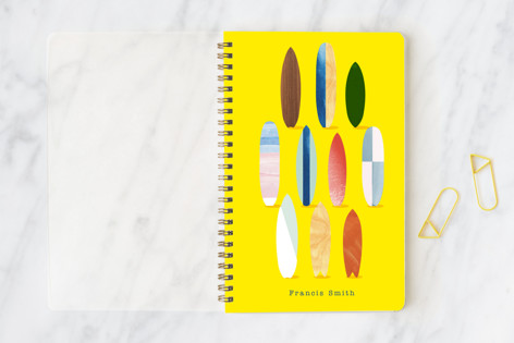 Surfboard Pose Notebooks