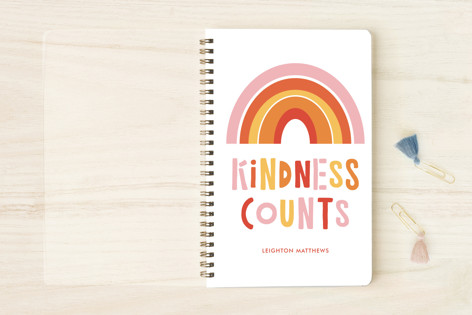 Kindness Counts Rainbow Notebooks