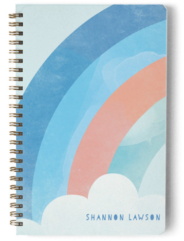 Bright Rainbow Day Planner, Notebook, Or Address Book