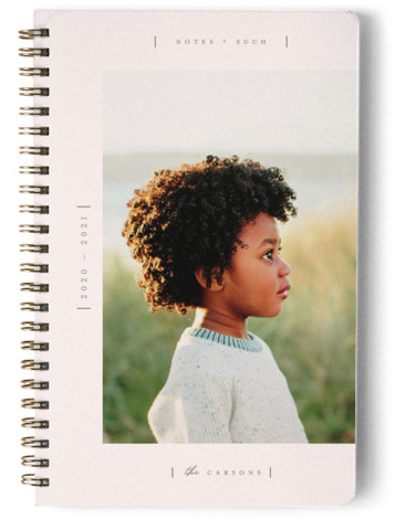 Blush Day Planner, Notebook, Or Address Book