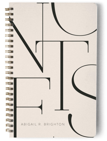 Elegant Notes Day Planner, Notebook, Or Address Book