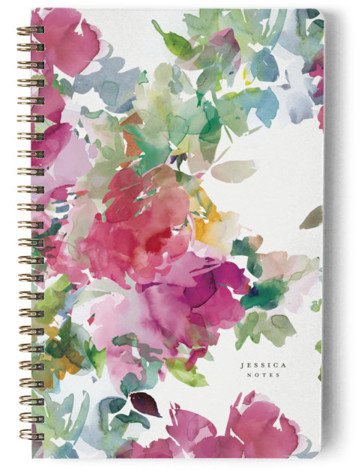 Bouquets Day Planner, Notebook, Or Address Book
