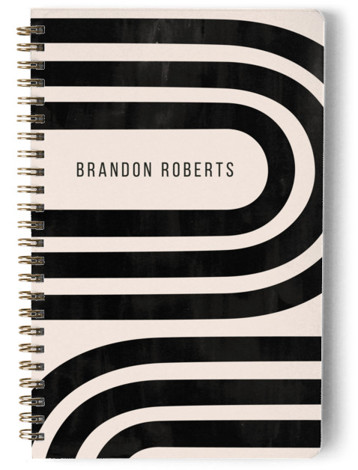 Winding Day Planner, Notebook, Or Address Book