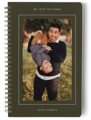 Framed Journal Day Planner, Notebook, Or Address Book