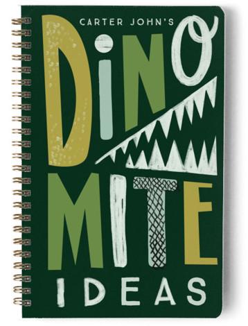 Dinomite Ideas Day Planner, Notebook, Or Address Book