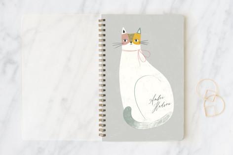 Feline Notes Notebooks