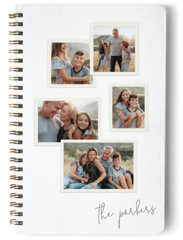 Five Snapshots Day Planner, Notebook, Or Address Book