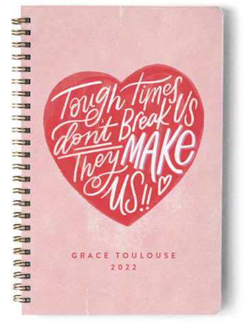 Tough Times Day Planner, Notebook, Or Address Book