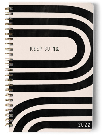 Keep Going Day Planner, Notebook, Or Address Book