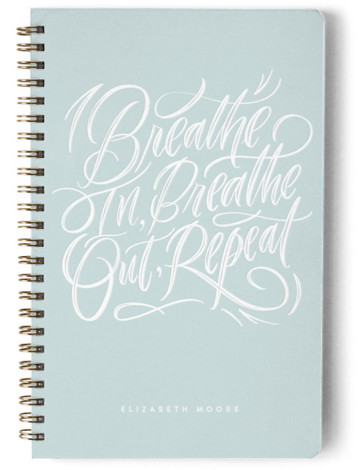 Breathe In. Breathe Out. Day Planner, Notebook, Or Address Book