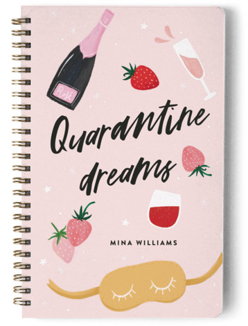 Quarantine Dreams Day Planner, Notebook, Or Address Book