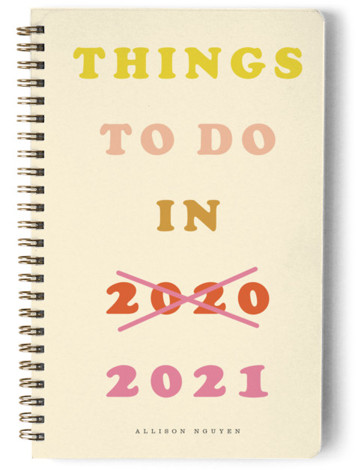 Things to do...next year Day Planner, Notebook, Or Address Book