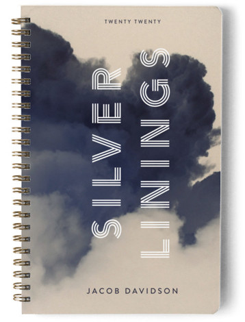 Silver Linings Day Planner, Notebook, Or Address Book