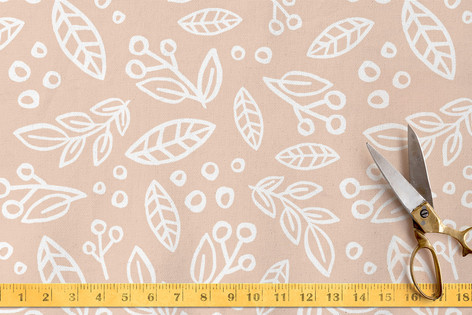 Painted Florals Fabric