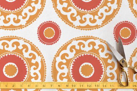 Bright Suzani Fabric
