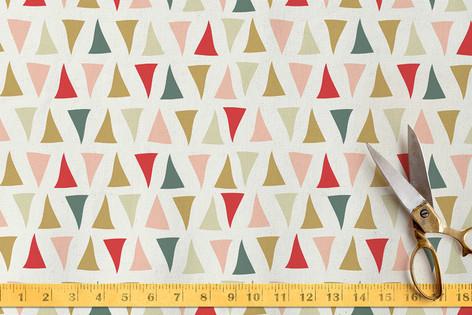 Triangle Traipse Fabric