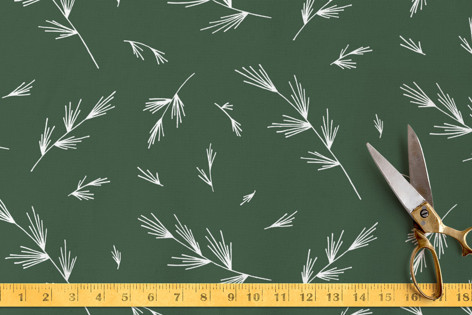 Pinewood Boughs Fabric
