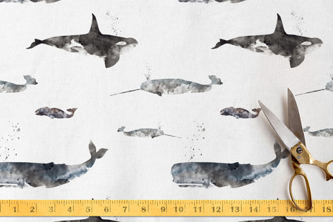 A Whale of a Time Fabric