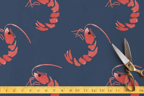 Shrimpy Fabric