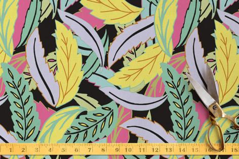 90svibeleaves Fabric