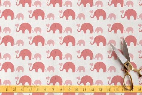 Elephant Heart Fabric