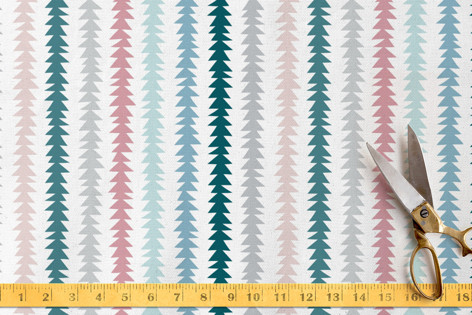 Bohemian Stripes Fabric