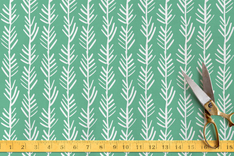 In the Jungle Palms Fabric