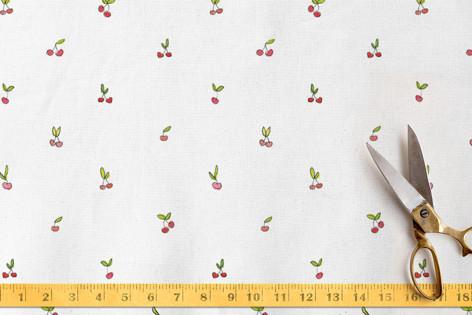 Tiny Cherries Fabric