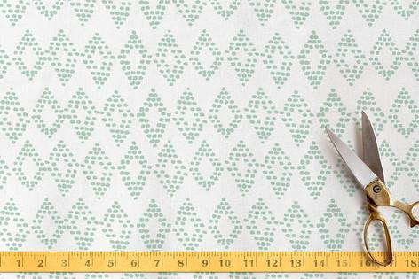 Dotted Diamonds Fabric