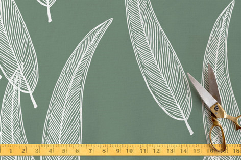 Sketched Willow Fabric