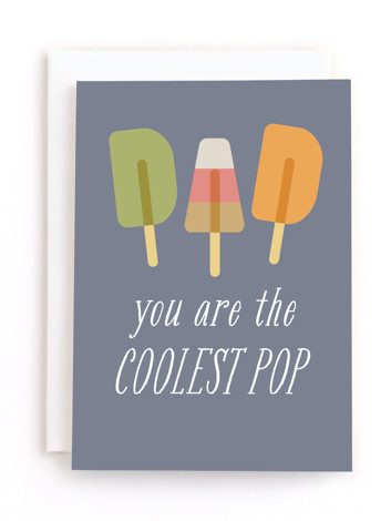 coolest pop Father's Day Greeting Cards
