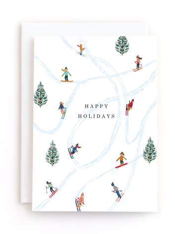 Snow Fun Holiday Greeting Cards