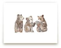 Three Little Bears by Lauren Rogoff