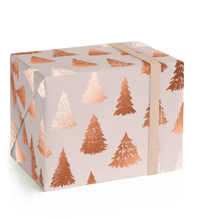 Gilded Forest Foil-Pressed Wrapping Paper
