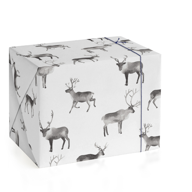 Reindeer Feet Wrapping Paper
