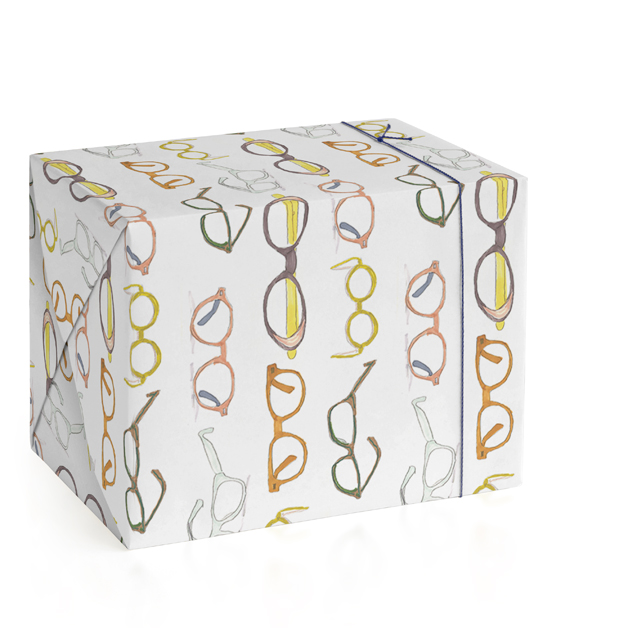 Koselis Glasses Wrapping Paper