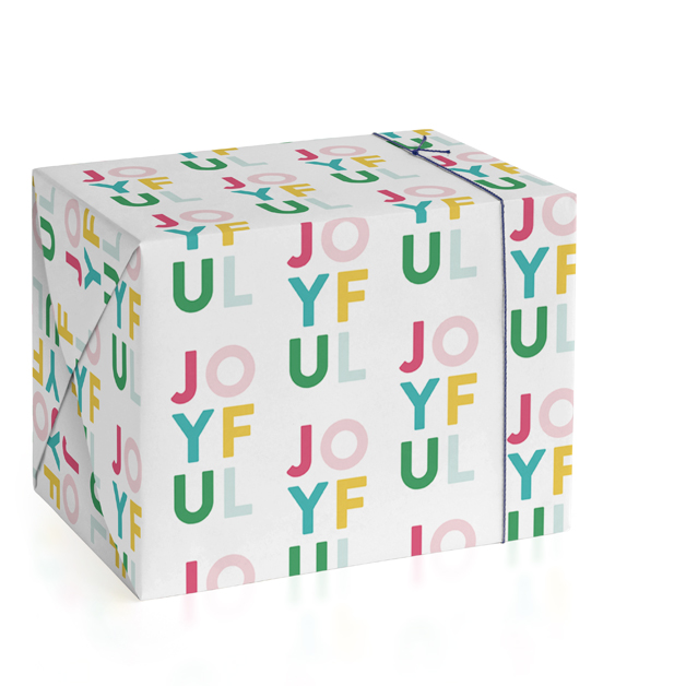Colorful Joyful Wrapping Paper