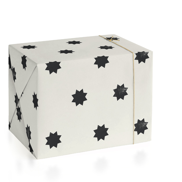 geo stars Wrapping Paper
