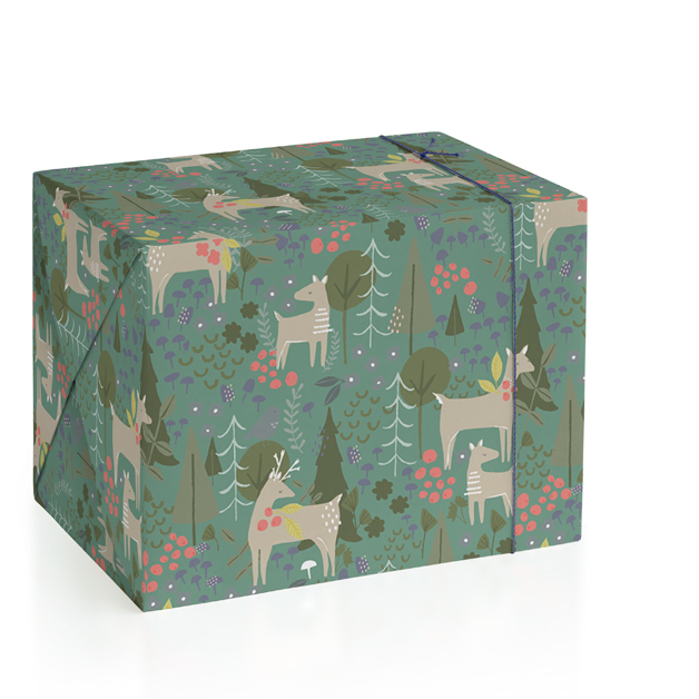 Bonney Woods Wrapping Paper