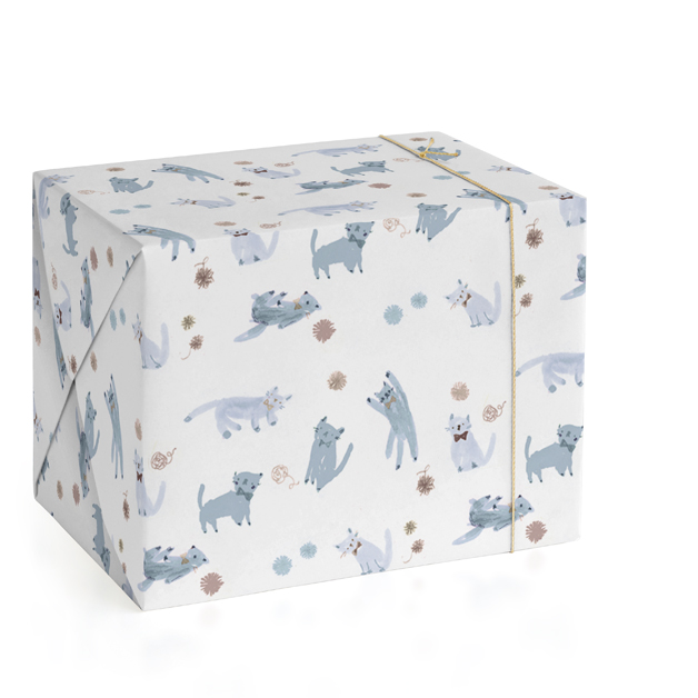 Doodle Cats Wrapping Paper
