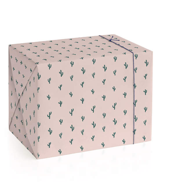 mini cacti Wrapping Paper