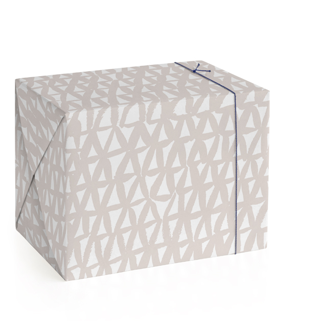 Painted Triangles Wrapping Paper